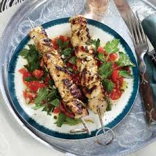 Image result for chicken kebab salad