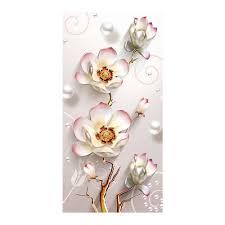 Flower vase Vertical <b>Moge Diamond</b> Painting Full Round Magnolia ...