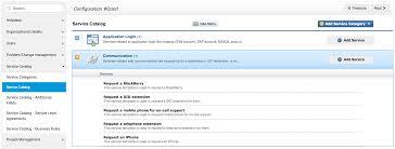 manage service catalog