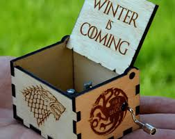 Engraved Wooden Music Box Game Of Thrones Game of Thrones Music Box Wooden Custom Engraved Gift Wood Musical 56