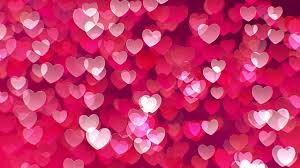 Floating Hearts Background Stock Motion Graphics Motion Array