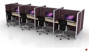 office desk cubicle. Cluster Of 8 Person Telemarketing Office Desk Cubicle Workstation E