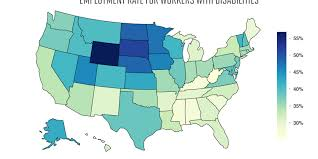 Employment For Americans With Disabilities State By State