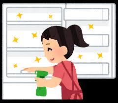 冷蔵庫の掃除のイラスト | かわいいフリー素材集 いらすとや