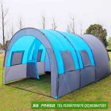 diy beach canopy 10 person outdoor tent shade leisure multiplayer team tunnel camping