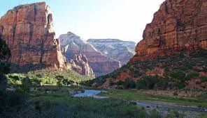 summer weather in zion zion canyon