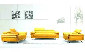 er yellow leather sofa couch orange sectional and creative of with modern style decor reclining yellow leather couch
