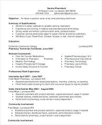Resume Examples For Pharmacy Technician Enchanting Pharmacy Technician Resume Skills Elegant Pharmacy Technician Cover