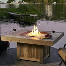 patio fire pit table propane fire round gas fire pit glass fire pit table table with