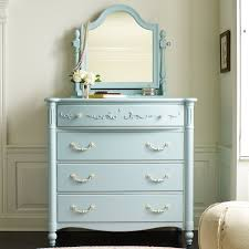 Young America Isabella 4 Drawer Dressing Chest with Optional