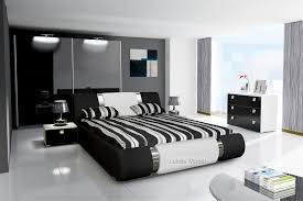 Komplett Schlafzimmer Novalis Hochglanz Schwarz Weiß