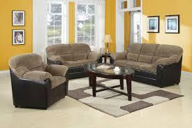 Living Room 3 Piece Sets 3 Piece Brown Corduroy Espresso Pub Sofa Set