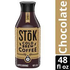That's how we created stōk. Stok Chocolate Cold Brew Coffee 48 Oz Walmart Com Walmart Com
