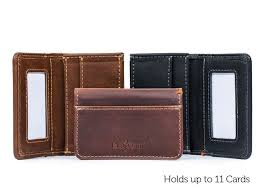 camden credit card wallet mens minimalist pocket wallet mens leather