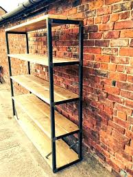 industrial style shelving. Industrial Style Shelving Full Size Of Bookcase Together With Ladder Bookshelf Plus