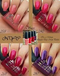 Nyc Nail Polish Color Chart Nyc Nail Polish Color Chart