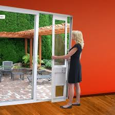 high tech pet power electronic patio door for sliding