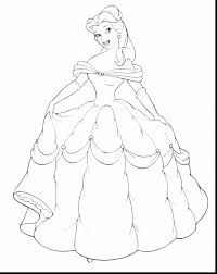 Small Picture excellent disney princess belle coloring pages with princess
