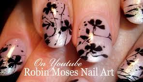 DIY Easy Splatter Paint Nails | Flower Nail Art Design Tutorial ...