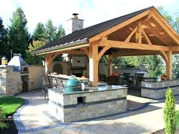 outdoor bbq ideas covered cooking area large size of kitchens pictures rustic nz kitchen idea