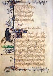 portraits of geoffrey chaucer manuscript illumination paintings chaucer portrait in the ellesmere manuscript of the canterbury tales