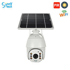 SunnyTech <b>Solar</b> Powered <b>Wifi</b> PTZ IP Camera (<b>Wifi Version</b> ...