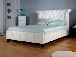 epsilon white faux leather 5ft king size bed llb 4660 1 p jpg