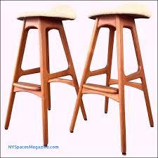 pair of erik buch for oddense maskinsnedkeri od 61 teak bar stools