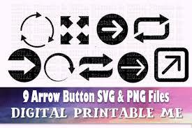 Arrow Silhouette Icon Bundle Graphic By Digitalprintableme Creative Fabrica