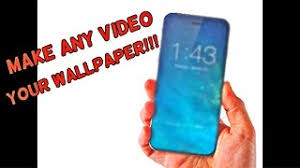 video your wallpaper on iphone
