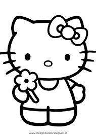 Disegno Hallokitty 66 Personaggio Cartone Animato Da Colorare Con