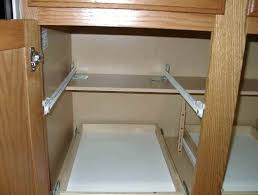 pull out drawers kitchen cabinets do it yourself installing pull out shelves sliding shelf install measuring guide pull out shelves kitchen cabinets