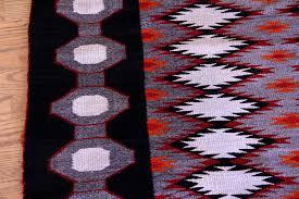 01 navajo textiles huge 105 x48 coloroful runner antique navajo teec nos