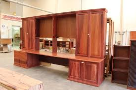 office wall unit. Bespoke Fully Custom Jarrah Office Wall Unit, Nedlands, Perth, WA Unit