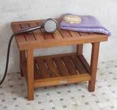 buy teak shower bench