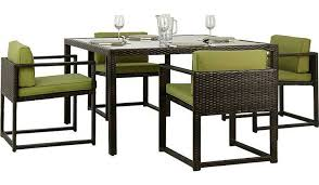 jakarta 5 piece deluxe patio dining set charcoal from our garden furniture range today from