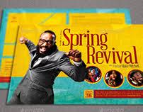 church revival flyers online portfolios on behance