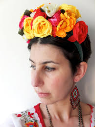 frida kahlo fl headband costume