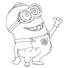Mach your mother a joy and give her this beautiful coloring page! Minions Coloring Pages 2015
