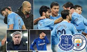 In 23 (85.19%) matches played at home was total goals (team and opponent) over 1.5 goals. Manchester City S Game Against Everton Is Postponed Due To Spate Of New Positive Covid 19 Cases Daily Mail Online