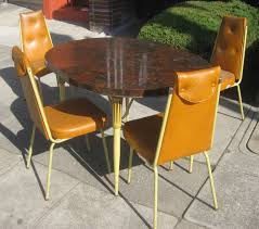 Retro Kitchen Furniture Retro Kitchen Tables Colored Modern Home Design Ideas