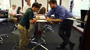 school adds standing desks to classrooms