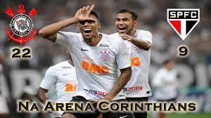 Corinthians 22 x 9 São Paulo I Retrospecto na Arena Corinthians - YouTube