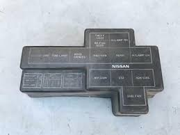 90 91 nissan 300zx z32 oem engine bay fuse box cover 15 00 picclick 90 91 nissan 300zx z32 oem engine bay fuse box cover