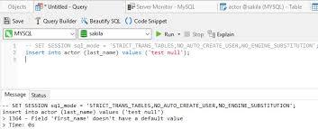 mysql default values good or bad
