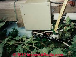 mobile home electrical inspection guide how to inspect the unsafe outdoor electrical service entry cables at a mobile home c d friedman s
