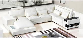 modern leather sectionals. Modren Modern Divani Casa Diamond Modern White Leather Sectional Sofa Inside Sectionals T