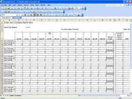 Sales Forecast Excel Sheet Rome Fontanacountryinn Com