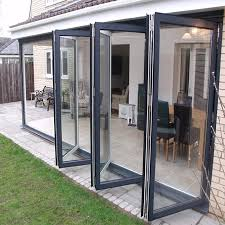 bi folding glass doors