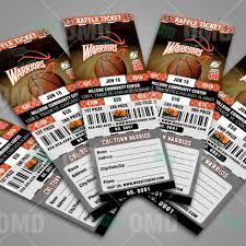 sports invites basketball raffle ticket template raffle ticket design 4 product 3